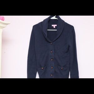 Women's Navy Holden Cardigan Lilly Pulitzer Size S